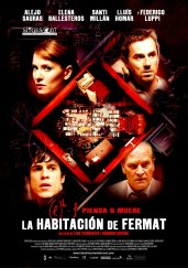 cartel LA HABITACIÓN DE FERMAT