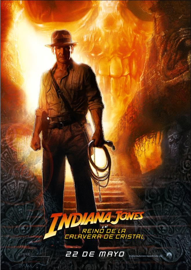 CARTEL INDIANA JONES IV