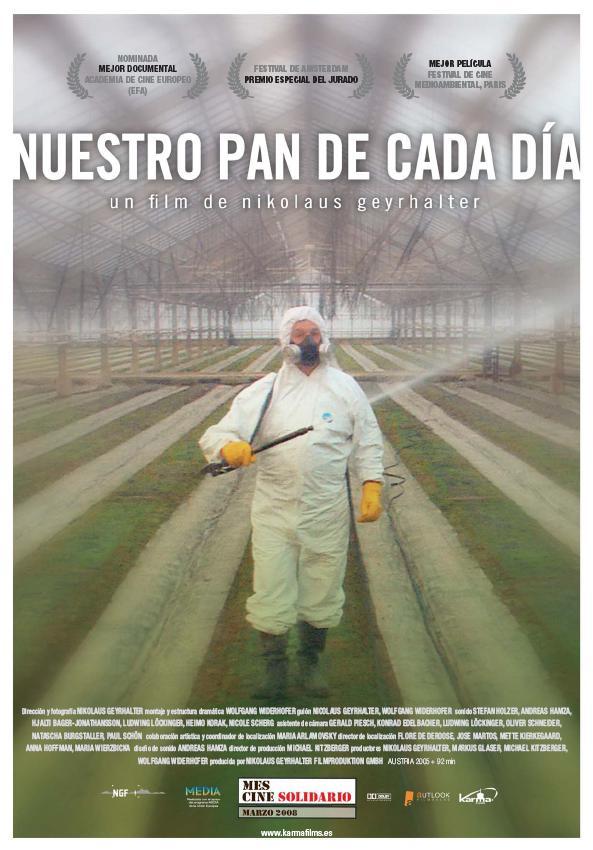 CARTEL NUESTRO PAN DE CADA DÍA
