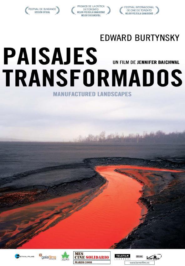 CARTEL PAISAJES TRANSFORMADOS