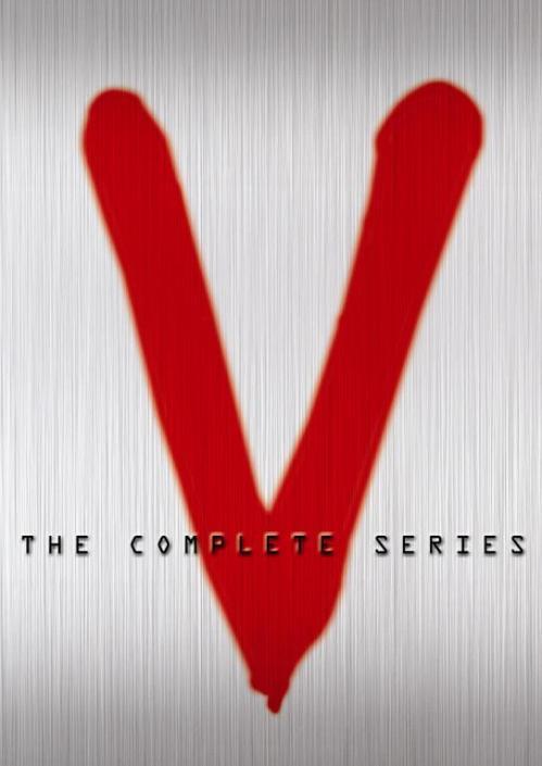 CARTEL SERIE V EDICIÓN DVD