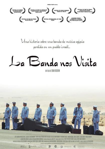 CARTEL LA BANDA NOS VISITA