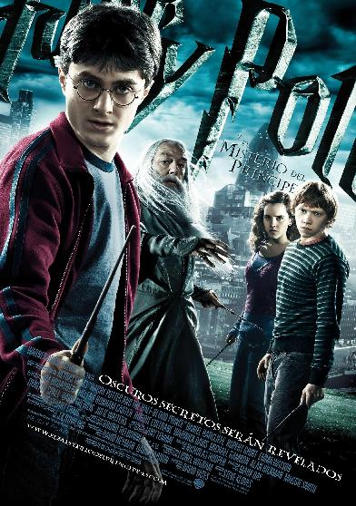 cartel harry potter y el misterio del principe