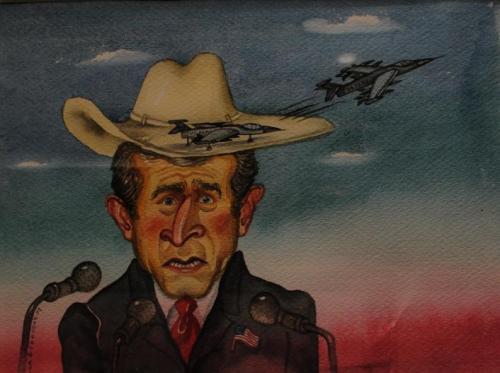 George Bush, Alla y Chavdar, Business Magazine, 05/08/2008
