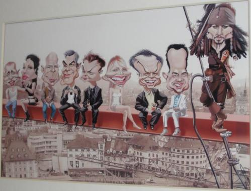 Diversas caricaturas, Swen, Aargauer Zeitung, 28/05/2008