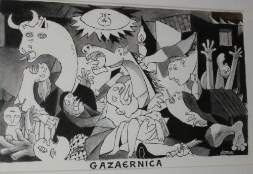 Gazaernica, Kountouris, Eleftheros Tipos, 09/03/2008