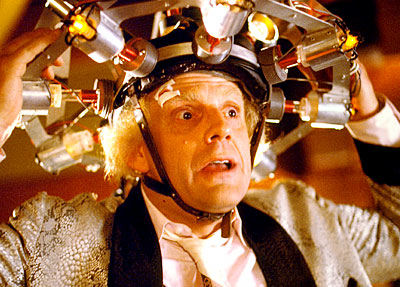 Doc Brown-Regreso al futuro