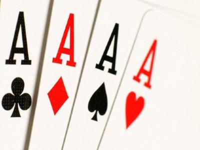 poker de ases