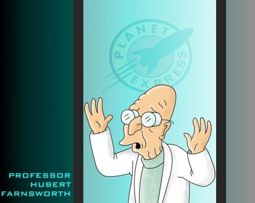 Profesor Hubert Farnsworth-Futurama